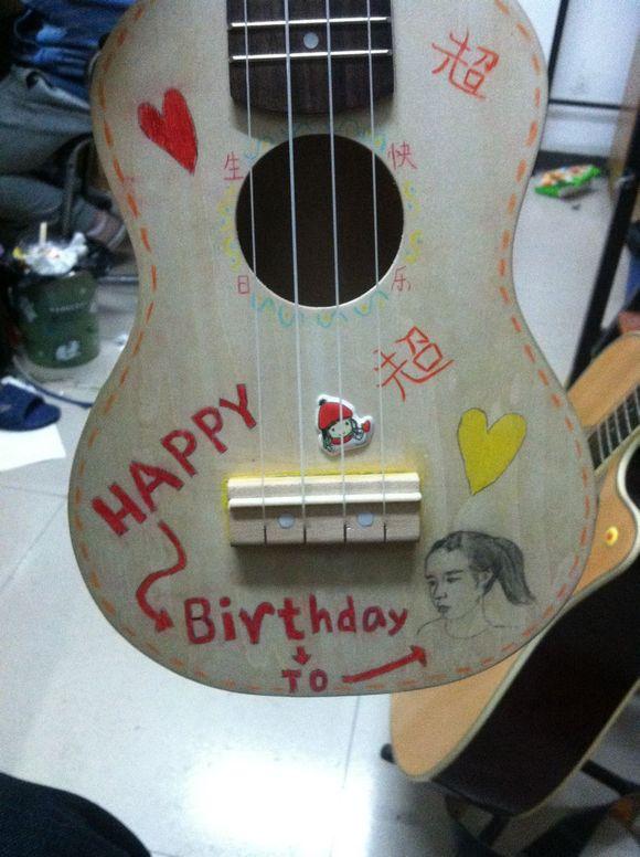 回复:【直播】做一个尤克里里给妹妹当生日礼物图片