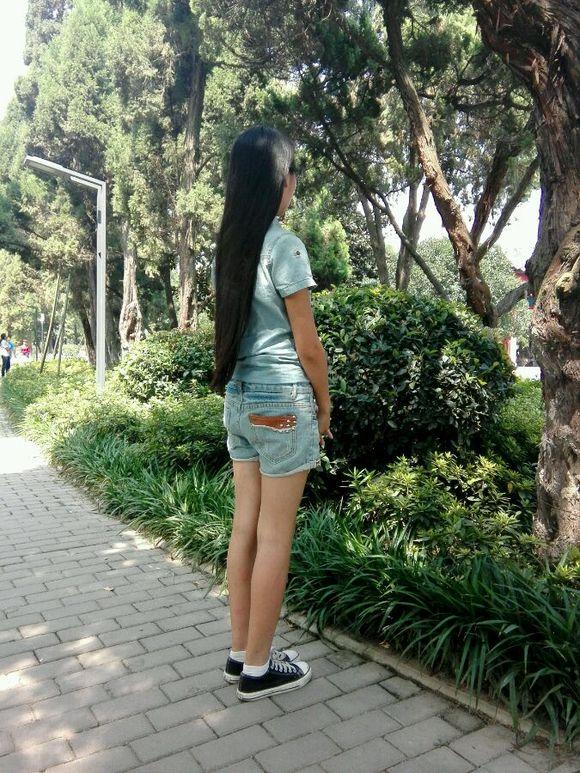 齐臀长发变短发如何?