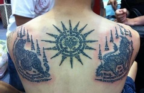 泰国佛教纹身.收藏分享图片
