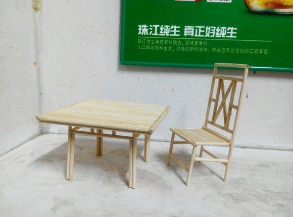 回复:竹签,筷子制作——秋千图片