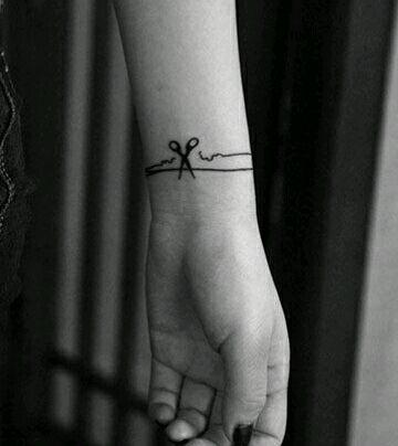 浪花手环纹身手环手稿分享展示图片图片