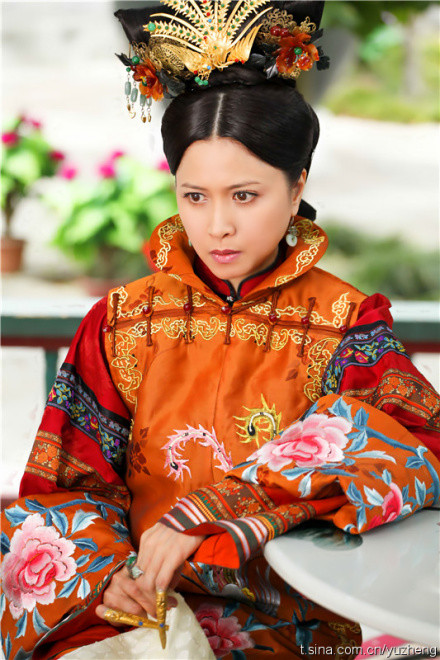 电视剧《宫锁心玉》 汤镇业 饰 玄烨 邵美琪 饰 赫舍里 虽说于麻麻是