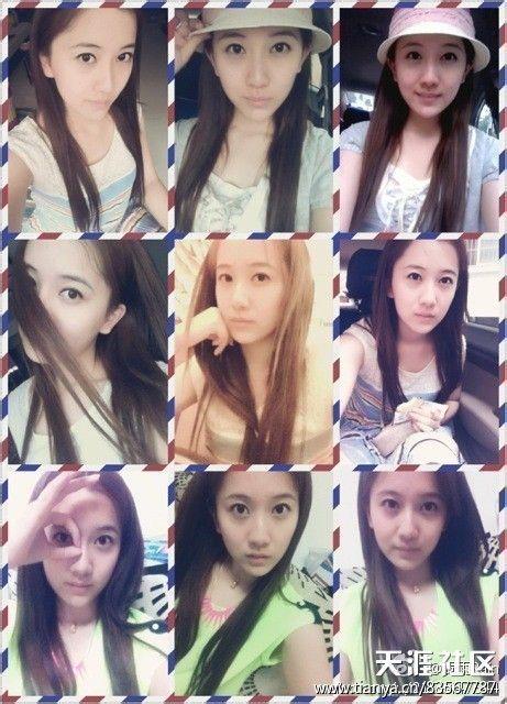 转 八一八北京电影学院2013级表演系的那些姑娘们图片
