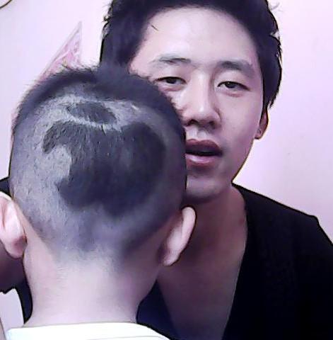 儿童发型男苹果分享展示图片