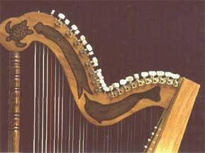 由上海为 印象国乐>制造创意十足现代竖箜篌--竖琴图片