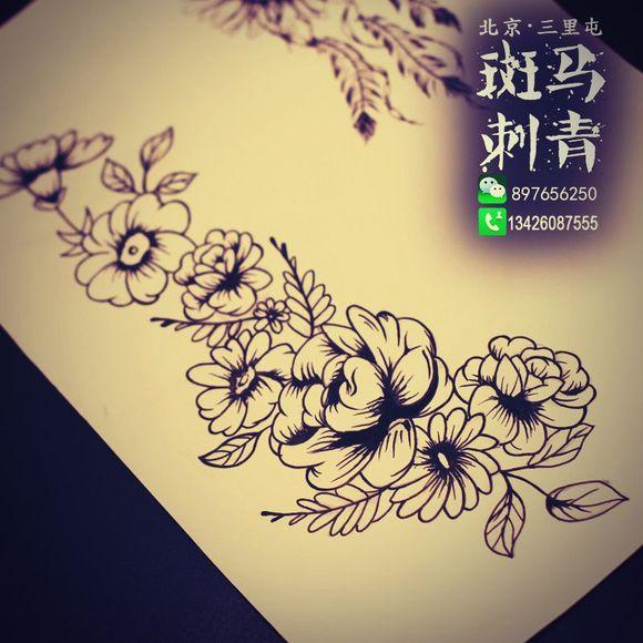 一个女刺青师的手稿_纹身吧_百度贴吧图片