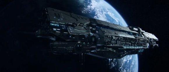 unsc战后旗舰无尽号,第一艘加装了人类逆向工程得到的