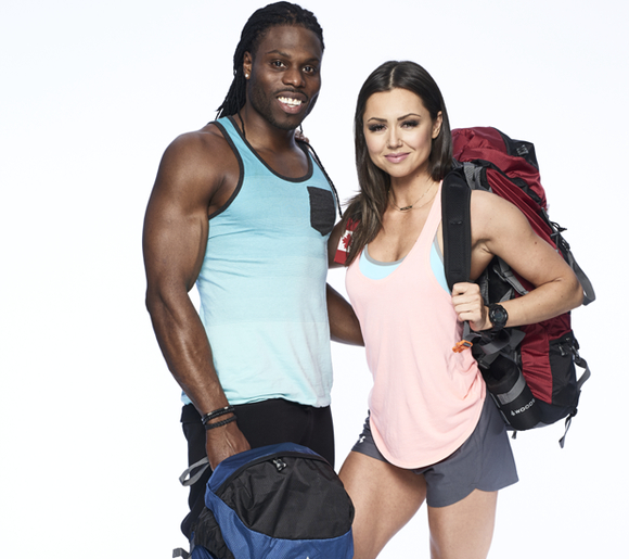 working as personal trainers at the gym together, where they