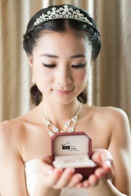 杭州新娘跟妆造型图片