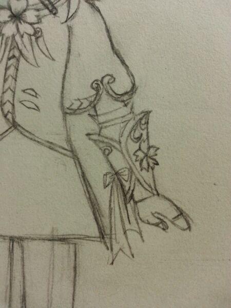 加上加上蝴蝶结的画法见大图,就是两个三角形加两个条形~简单画画图片
