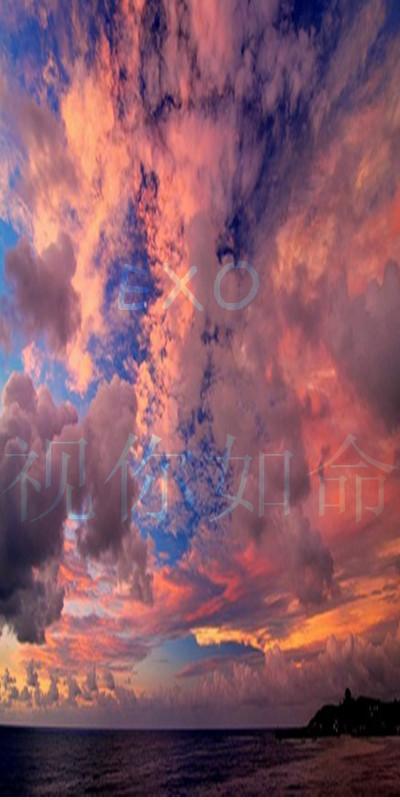 回复:★exo★130519‖原创‖ xoxo原宿星空风logo np图片