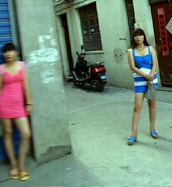 东莞长安站街街女