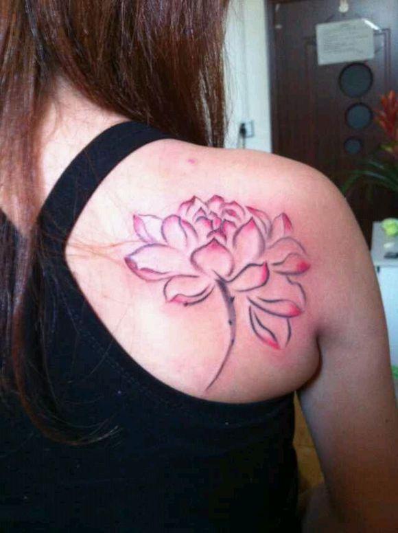 小纹身纹哪里好看-纹身图案女生小清新_女孩纹身纹的图片
