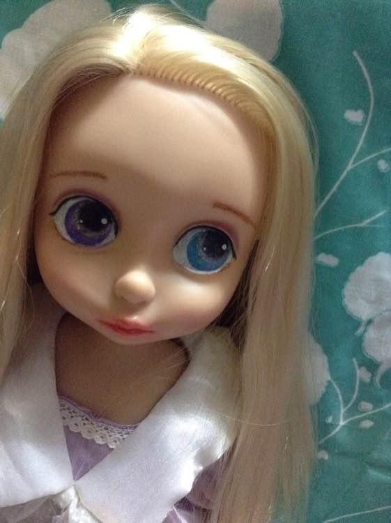 【娃娃沙龙】20150713关于改妆我都想哭了迪士尼视频惊喜蛋玩具图片