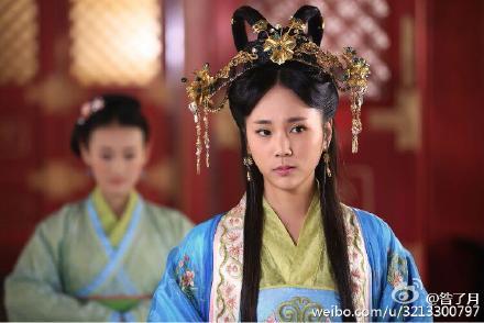 贵族色昝_回复:『古色古香』贴图‖影视剧中的中国后妃公主