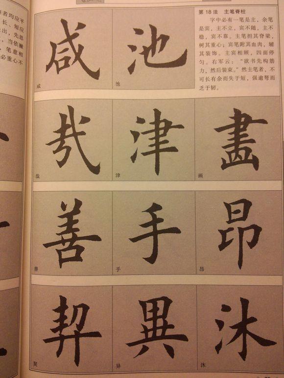 欧楷 田楷经典笔画 竖勾 跪笔弹锋 的两种写法,详细讲解,正拍演示
