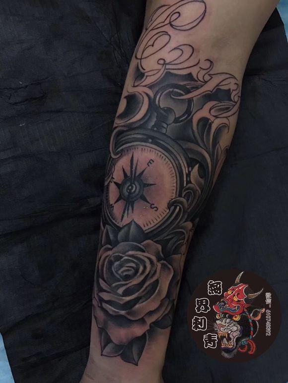 近日作品 义乌无界纹身刺青店图片