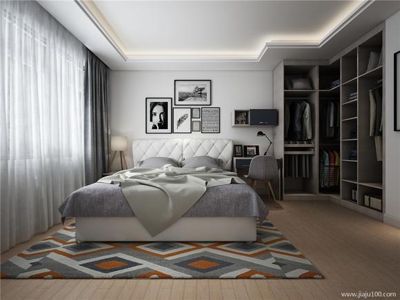 背景墙 房间 家居 起居室 设计 卧室 卧室装修 现代 装修 580_435图片