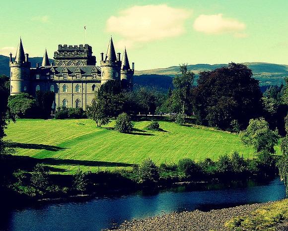 英国唐顿庄园 (highclere castle)图片