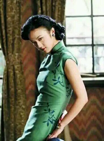 【居士团动漫组】美女明星穿旗袍哪个更具风韵