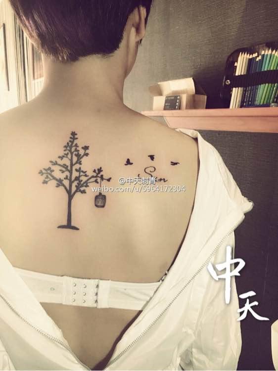 纹身_金九 中校 11             生命树纹身  生命树有很多种形态图片