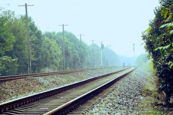 歙县最唯美火车道