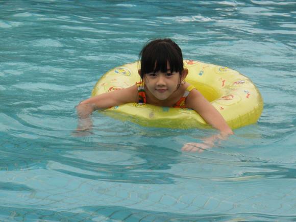 教我学游泳怎么换气