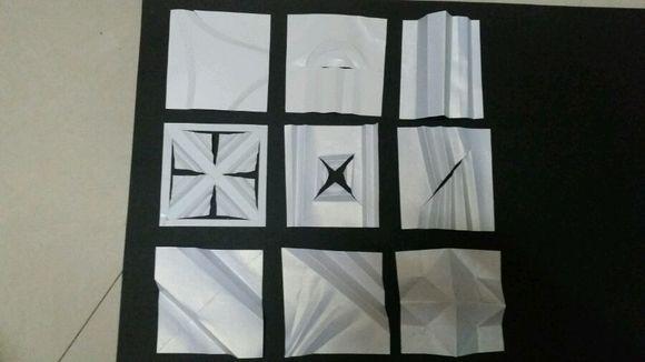 半立体构成折纸图片