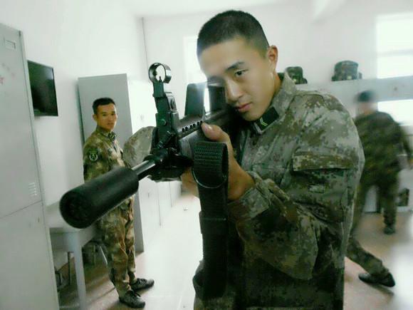 当兵奔放型发型分享展示图片