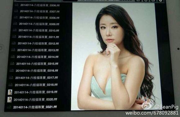 林心如现身六桂福珠宝分享展示图片