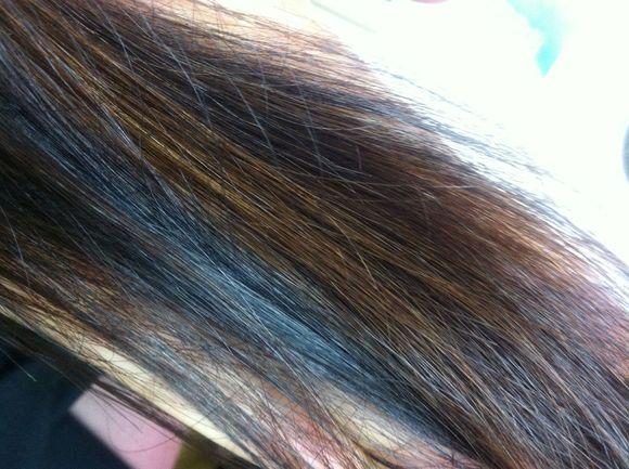 头发褪色分享展示图片