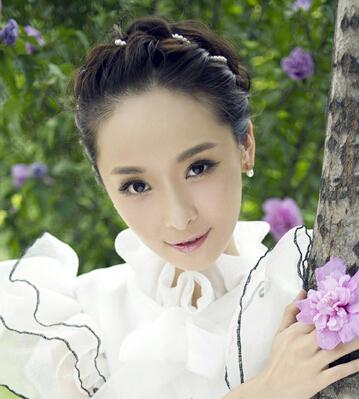 韩式婚纱照新娘发型大盘点图片