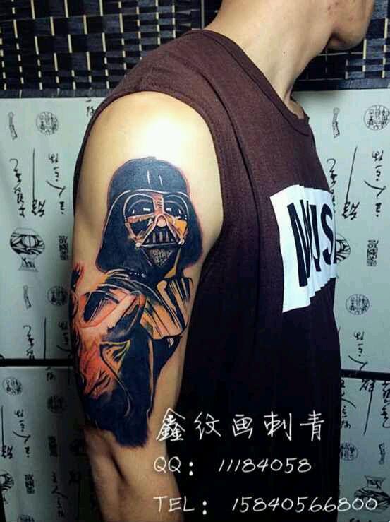 鬼纹身 胳膊纹身 包臂纹身_纹身图案图片