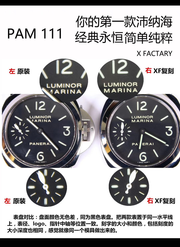 xf厂沛纳海684-沛纳海111到底是noob手表工厂还是n厂的还是什么呢?