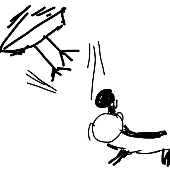 回复:赤犬是如何把青雉的腿打断?