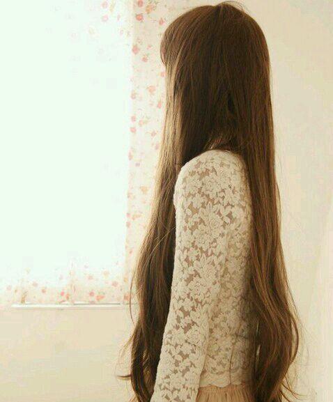 女人长发的背影图片图片