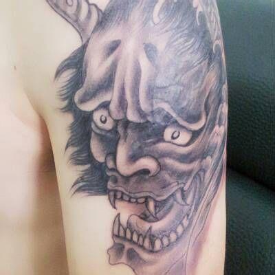 恶灵班诺纹身图案大全展示图片