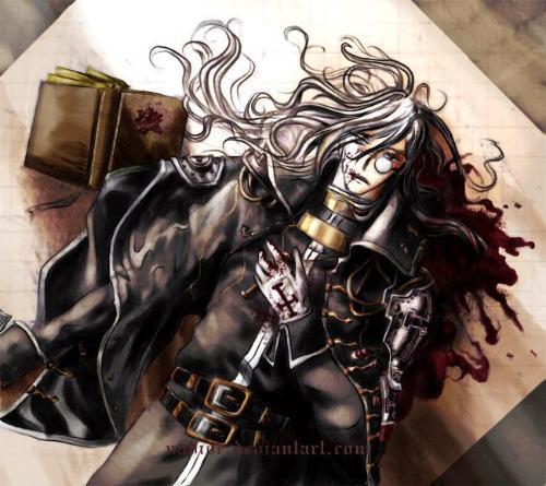 吸血鬼唯美动漫美女