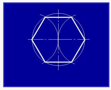 关于五角星与六角星的画法图片