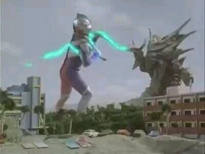 在迪迦奥特曼第47集中,是以艾勃隆细胞再次出现为主题的战斗.