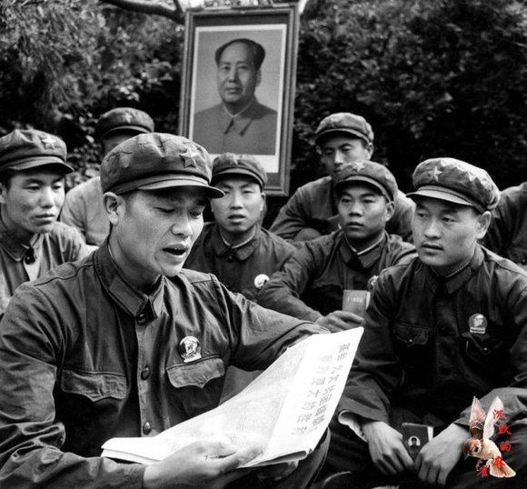 六九年中苏珍宝岛战斗中的英雄孙玉国及战友