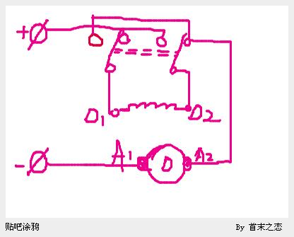 水电动三轮车电机怎么接线 高清图片