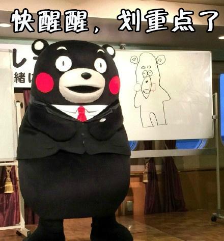 考试划重点啦~~熊本熊初中物理表情包图片