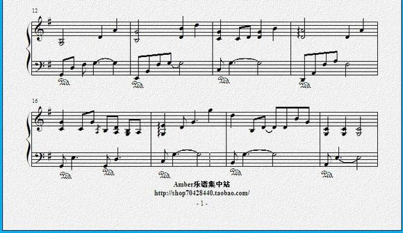 空白格简谱杨宗纬_分享:【我是歌手】杨宗纬【空白格】钢琴伴奏谱