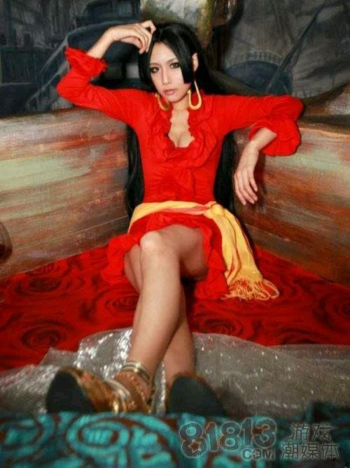 女帝cosplay第一人
