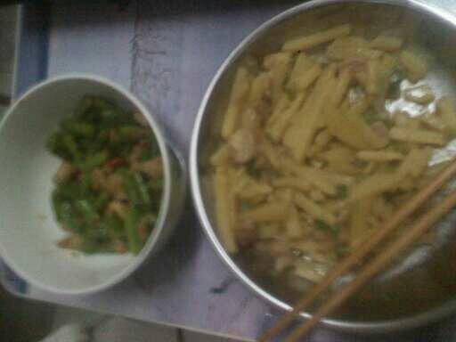 记录我做菜的过程图片