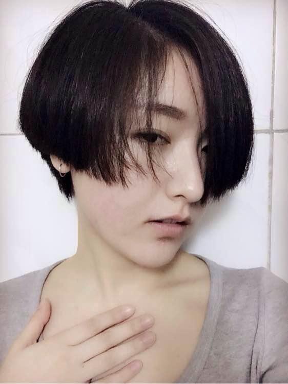 > 沙宣短发一边长一边短发型图片  方脸沙宣短发发型_图片搜索 (307图片