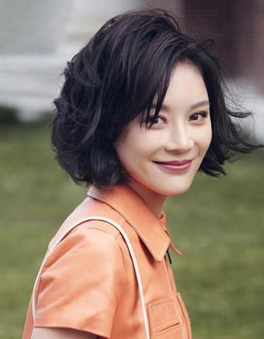 【图】袁姗姗发型短发迷人 清新亮丽惹人爱图片