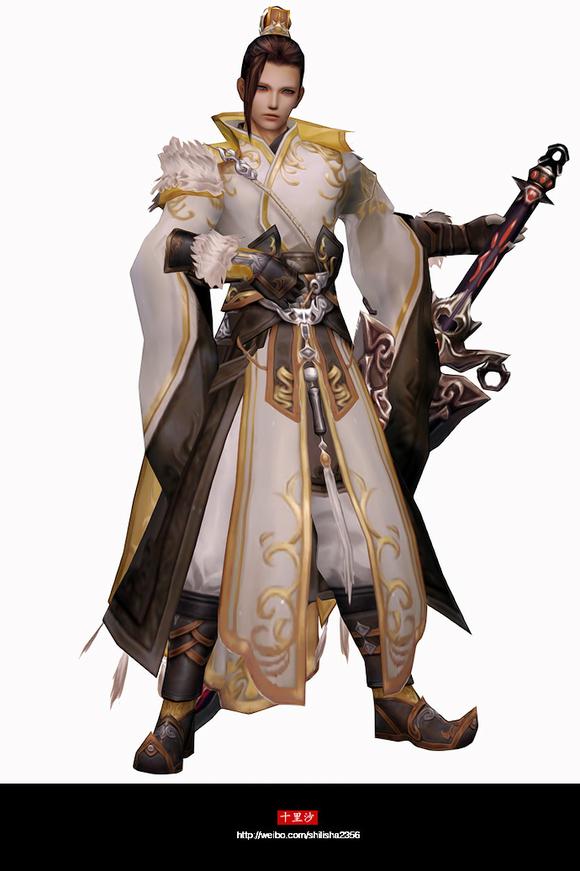 回复:【十里沙】剑3门派校服高清预览