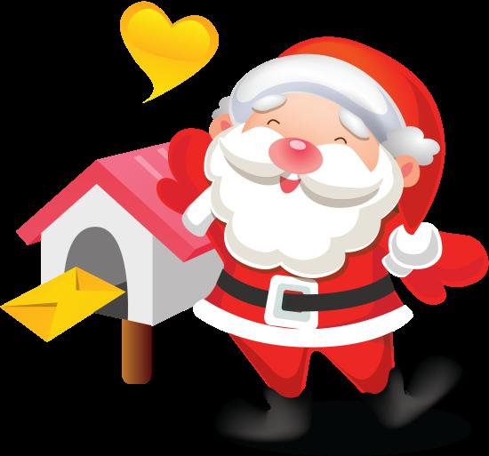 【我爱ps】121215:圣诞老人png